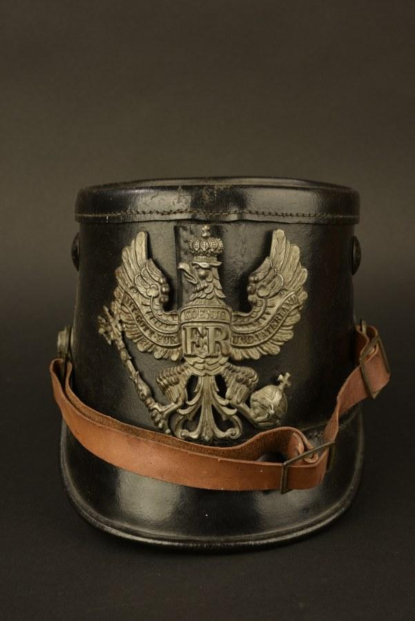 Schako de chasseur prussien
