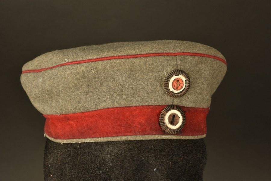 Mütze du Musketier Schöbel de la 9 Komp Inf Regts Von Winterfeld
