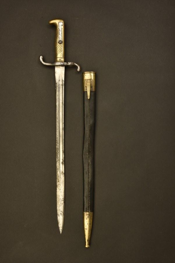 Baïonnette régimenté pour Mauser 1871