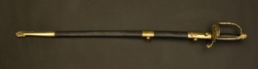 Sabre d'officier de marine modèle 1837