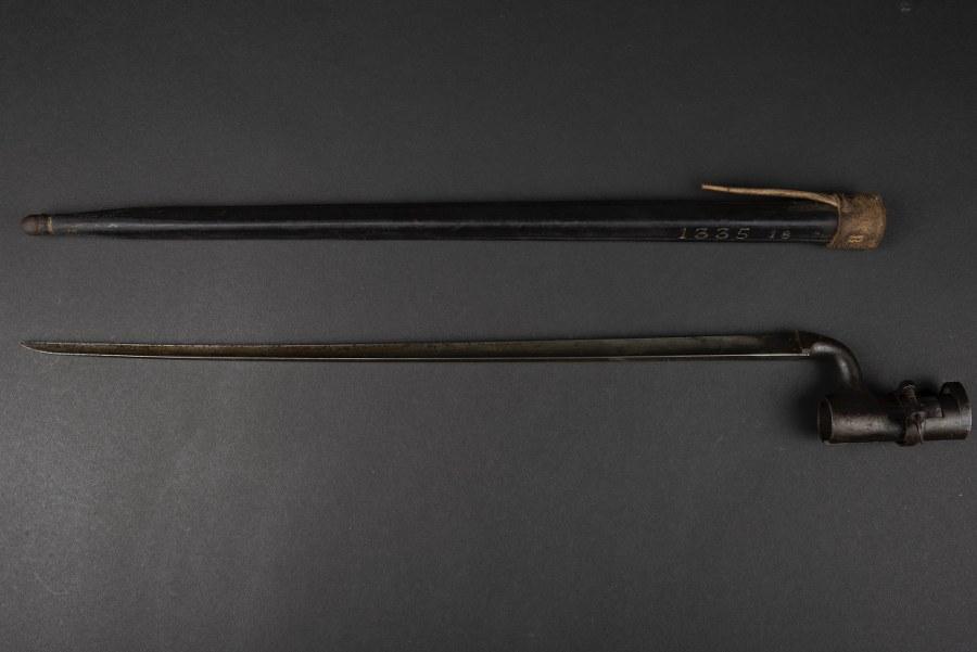 Baïonnette 1855 américaine modifiée