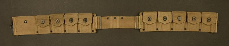 Ceinturon cartouchières US WWI