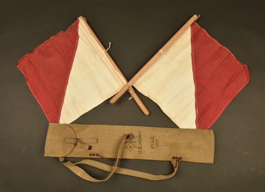 Drapeaux de signalisation US WWI