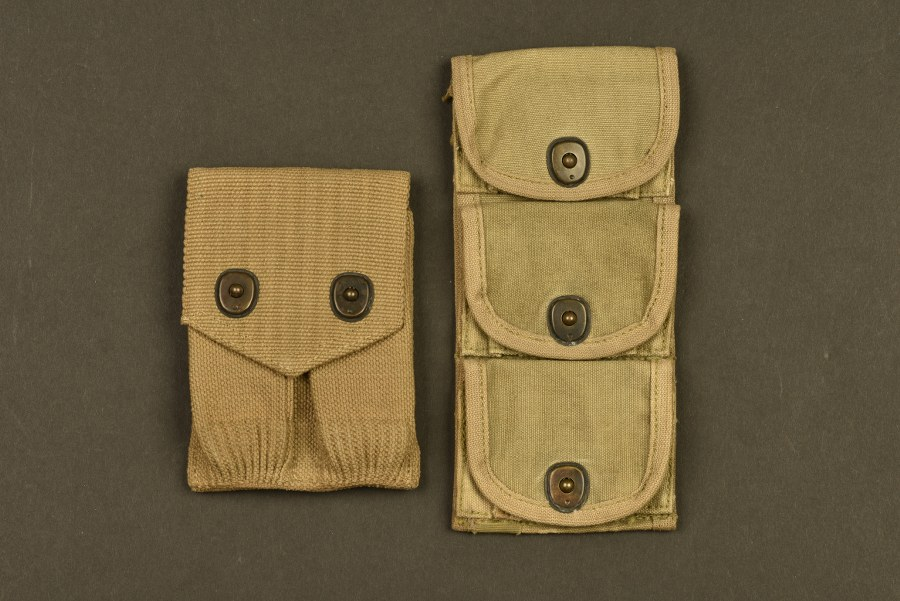 Ensemble de pochette pour munitions d'armes de poing US WWI