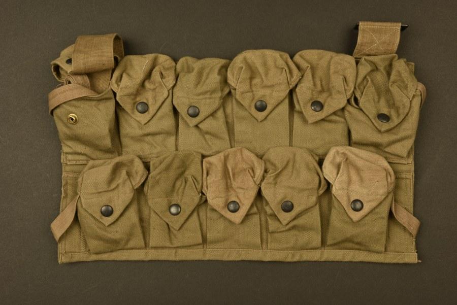Tablier porte grenade US WWI