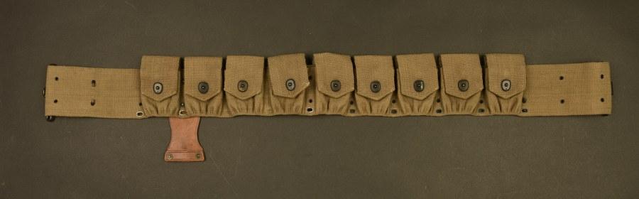 Ceinturon cartouchière de cavalerie US WWI