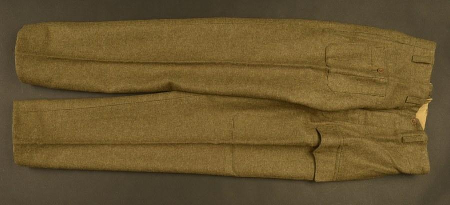 Reproduction de pantalon de Battle Dress