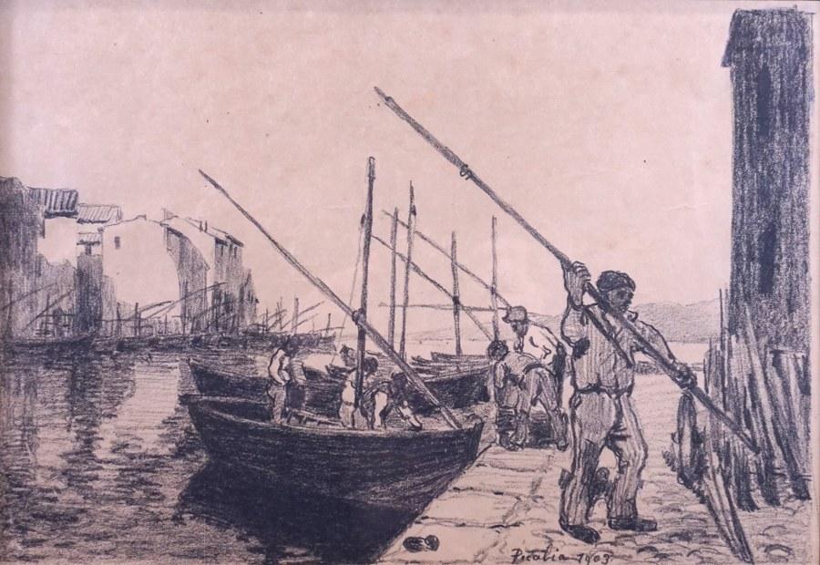 Port de pêche.