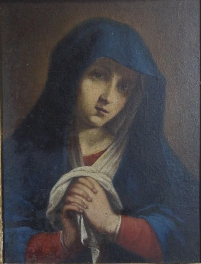 La Vierge priant.