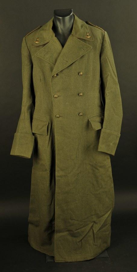 Manteau de l'armée suédoise