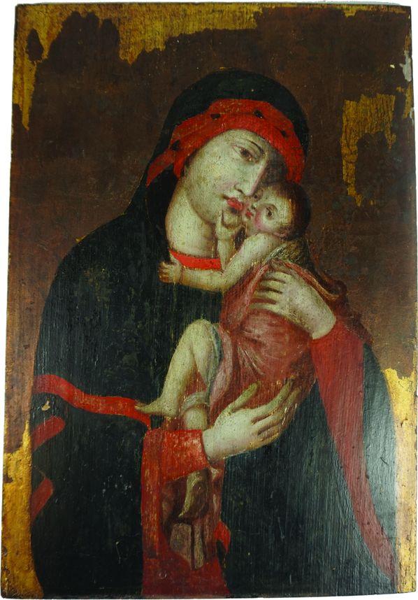 Vierge à l'enfant.