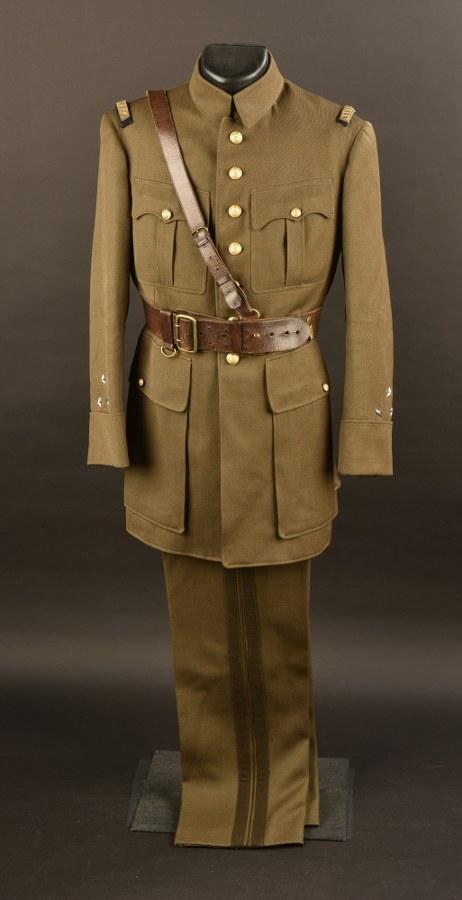 Uniforme du Général de Division Albert-Joseph DAINE