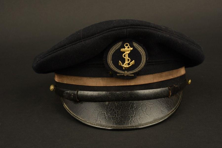Casquette d'aspirant de la Marine Française