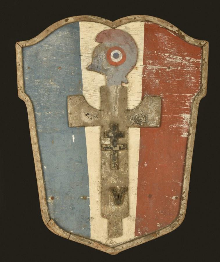 Blason de ville à Francisque provenant de la Rochelle