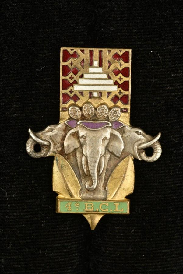 Insigne du 4° Bataillon de Chasseurs Laotiens