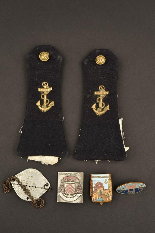 Ensemble de la marine en Indochine