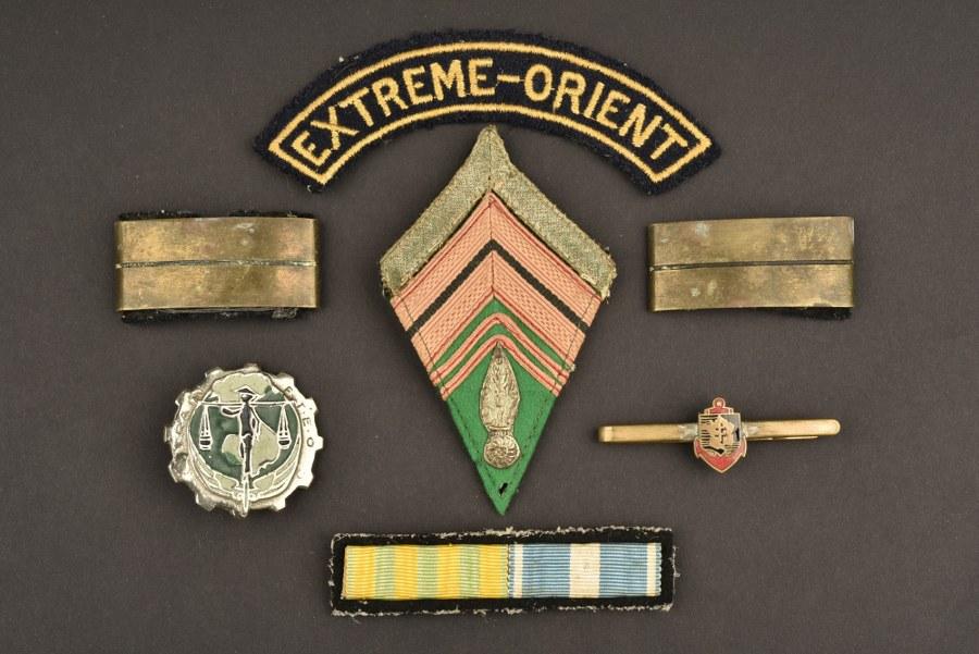 Souvenirs d'un soldat du Train en Indochine