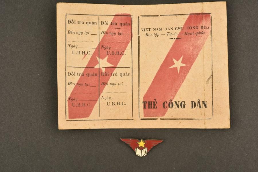 Carte d'identité Vietminh