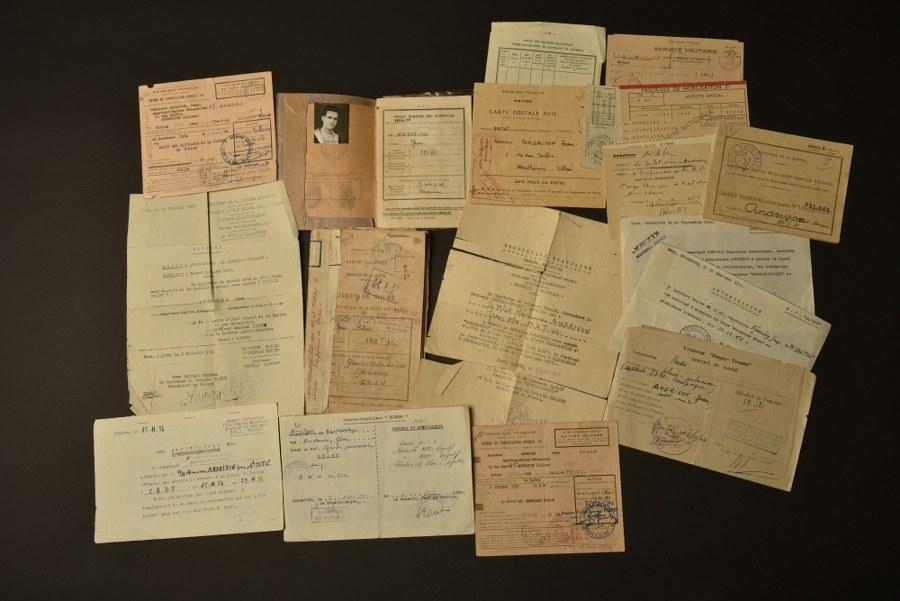 Ensemble de documents du Quartier Maitre mécanicien Andrivon