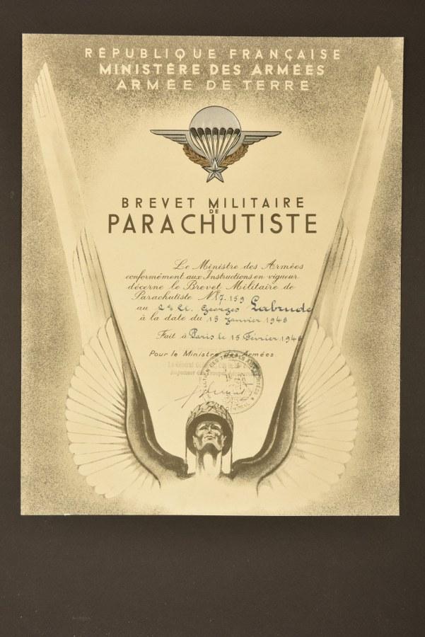 Brevet parachutiste français