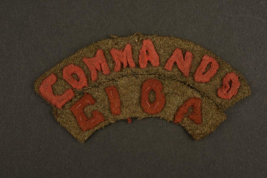 Rare insigne commando du centre d'instruction des opérations amphibies