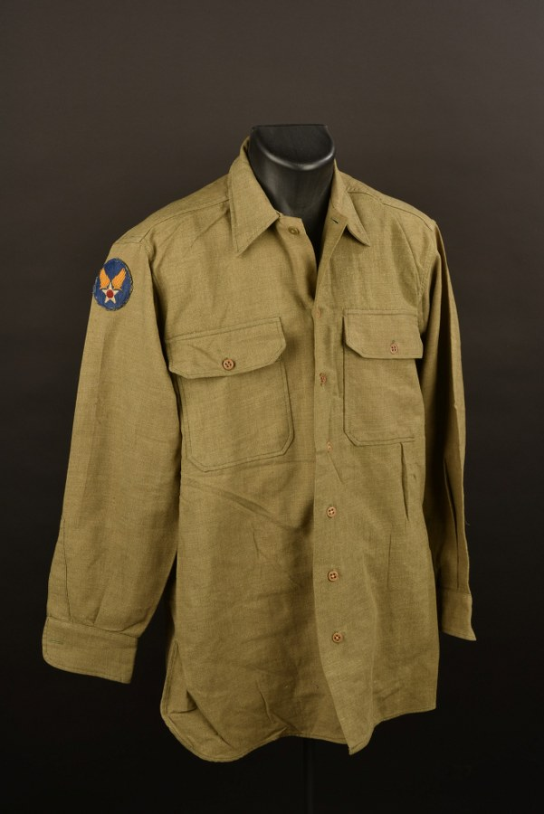 Chemise moutarde USAAF