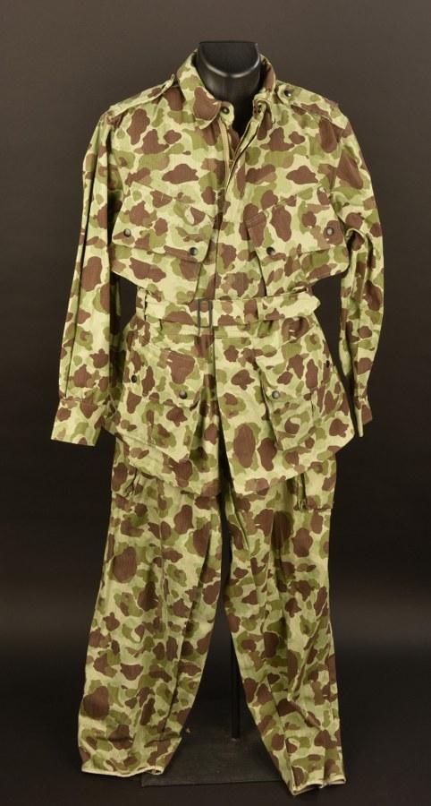 Reproduction d'uniforme parachutiste USMC