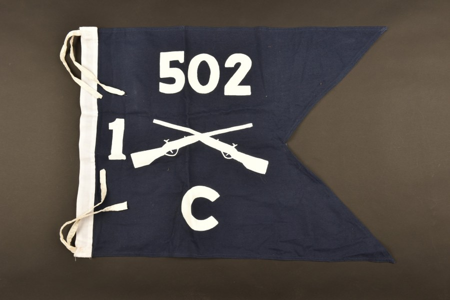 Reproduction de drapeau du 502ème d'infanterie