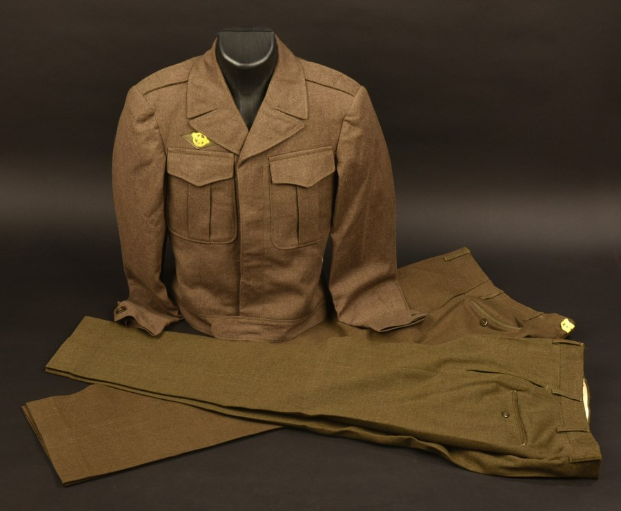 Ensemble d'uniformes US