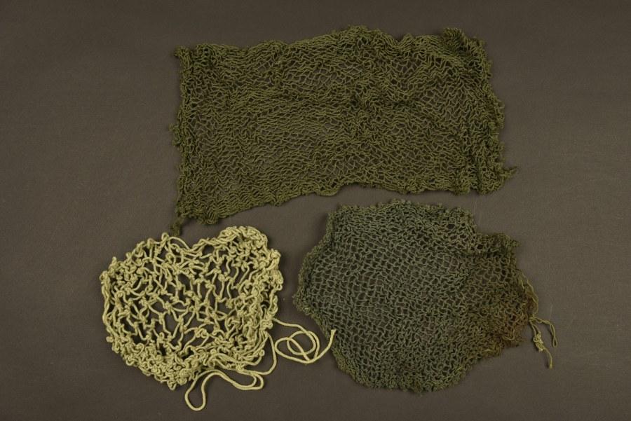 Filets de camouflage pour casque