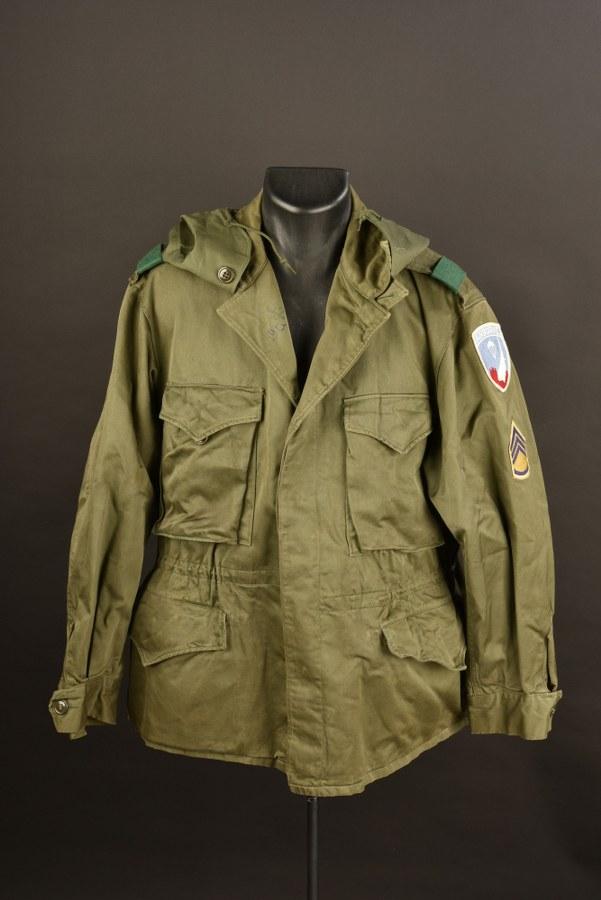Veste M-43 de sergent de l'Airborne Guerre de Corée