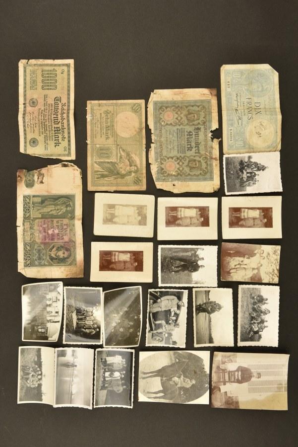 Lot de photos et documents