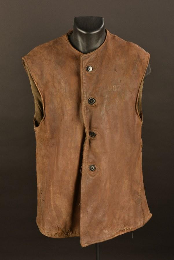 Leather Jerkins camouflé