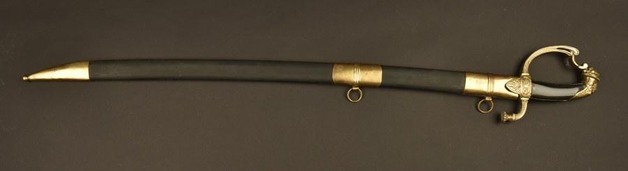 Belle reconstruction d'un sabre des gardes d'honneur premier empire