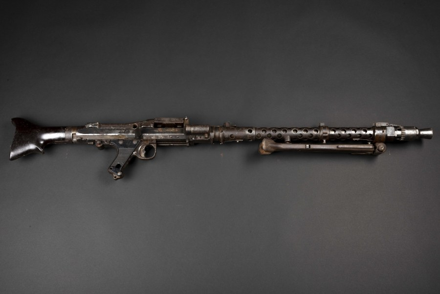 Mitrailleuse MG34 Catégorie C9