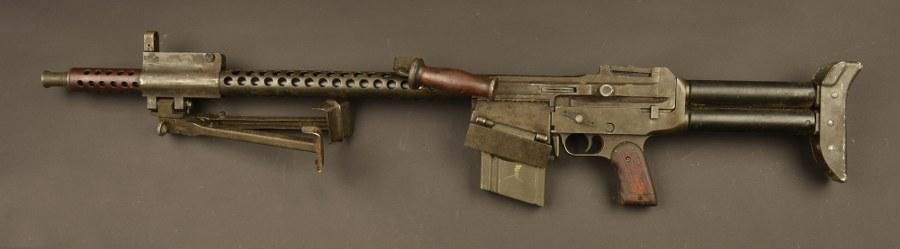 Fusil mitrailleur israélien Dror. Catégorie C9