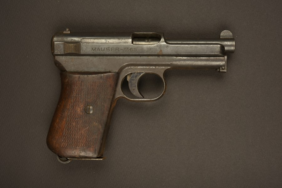 Pistolet Mauser 1934. Catégorie C9