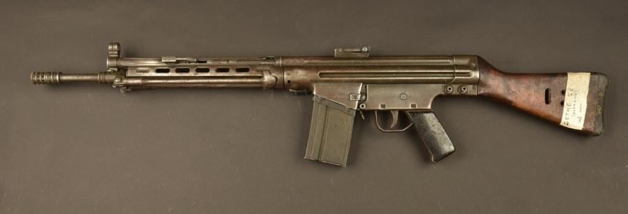 Pistolet mitrailleur Espagnol Cetme 58 type B. Catégorie C9
