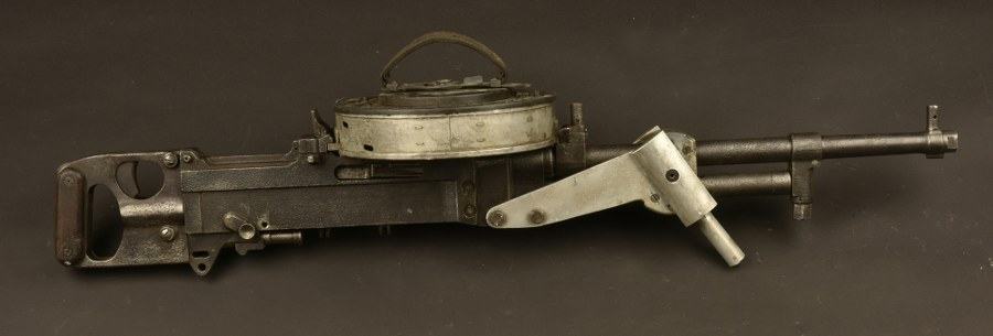 Mitrailleuse britannique Vickers K Gun. Catégorie C9