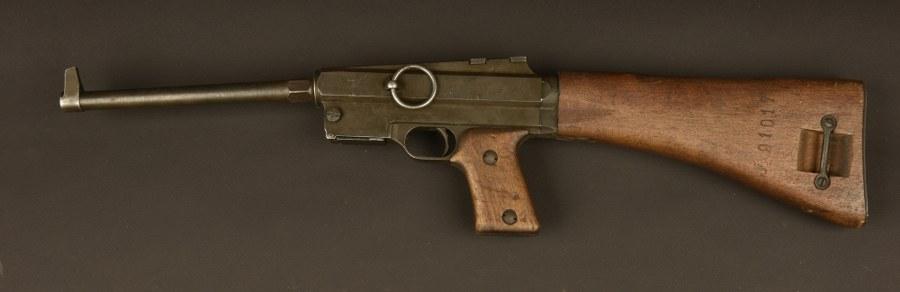 Pistolet mitrailleur français Mdl 38. Catégorie C9