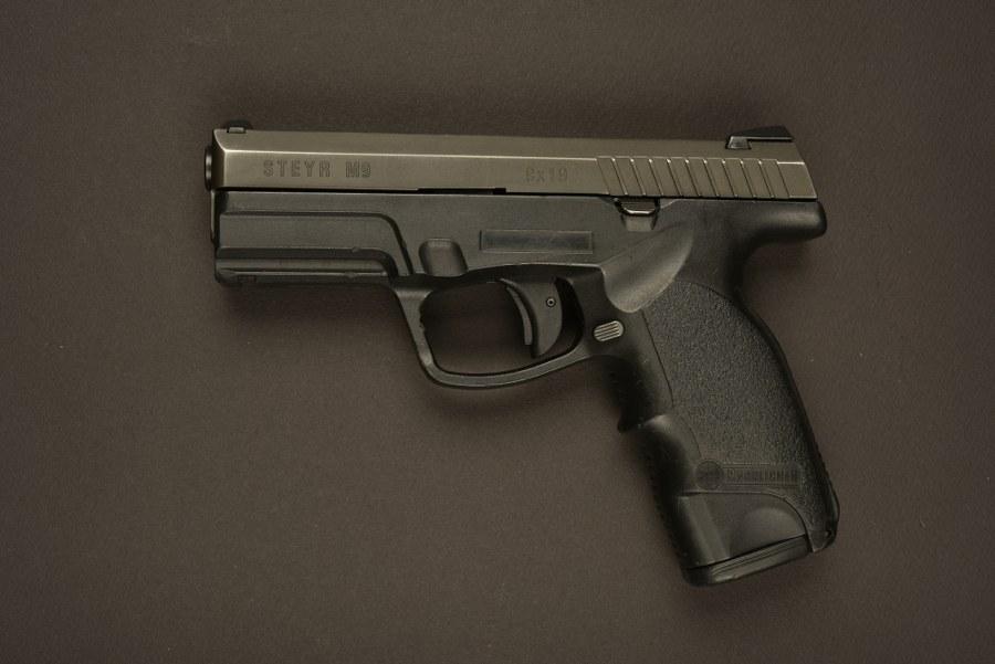Pistolet Steyr Mannlicher utilisé par Liam Neeson dans le film Taken. Catégorie C9