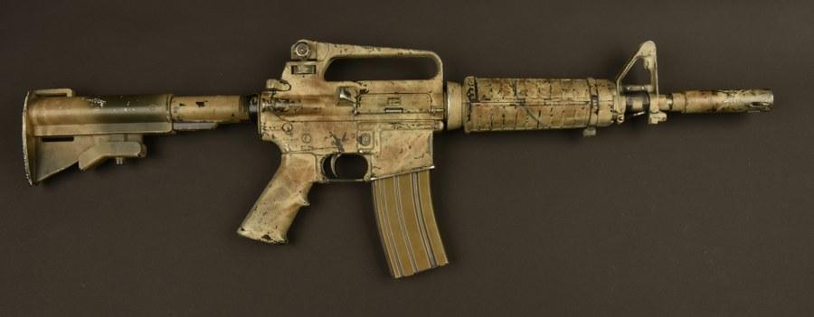 Pistolet mitrailleur M4 utilisé dans le film la Chute du faucon noir. Catégorie C9