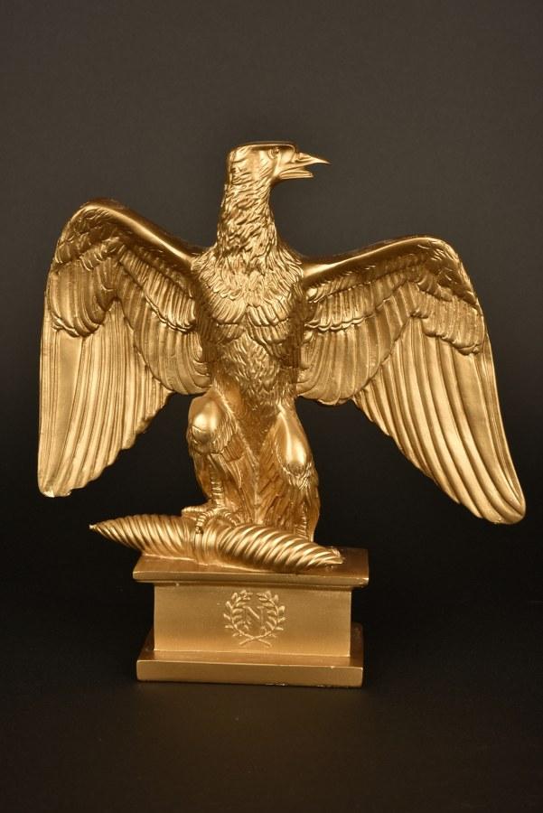Reconstitution d'une aigle impériale du 1er Empire