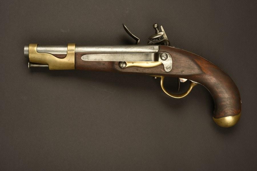 Reconstitution d'un pistolet de cavalerie An IX