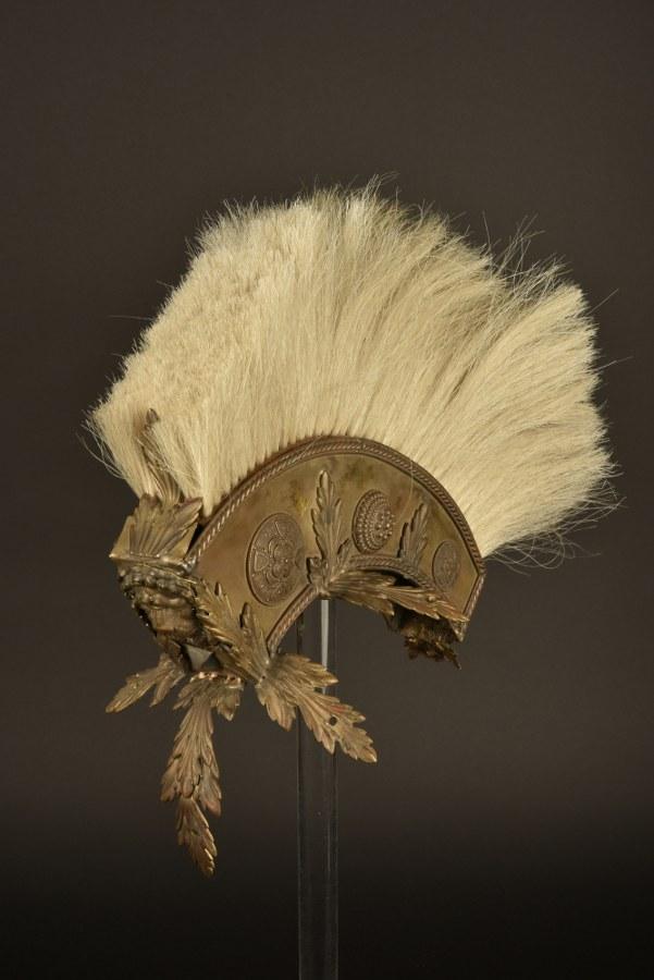 Cimier du casque de Brutus dans le film Astérix aux Jeux Olympique