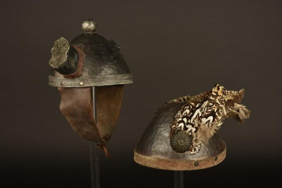 Deux casques de Gaulois