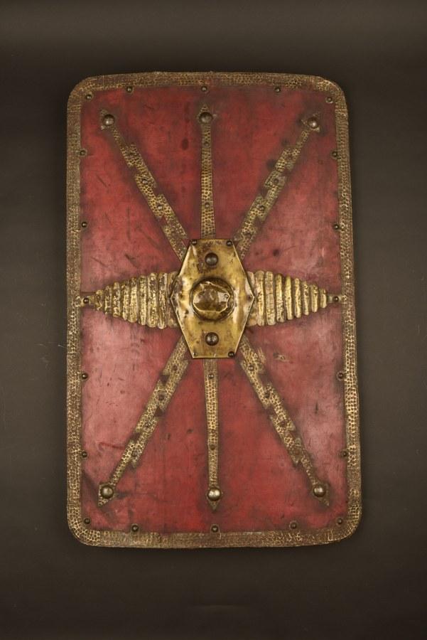 Bouclier de garde romain utilisé dans la saga Astérix