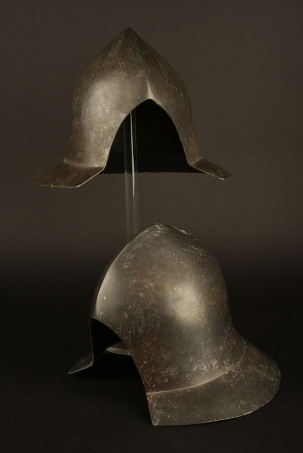 Ensemble de casques français du film Jeanne d'Arc