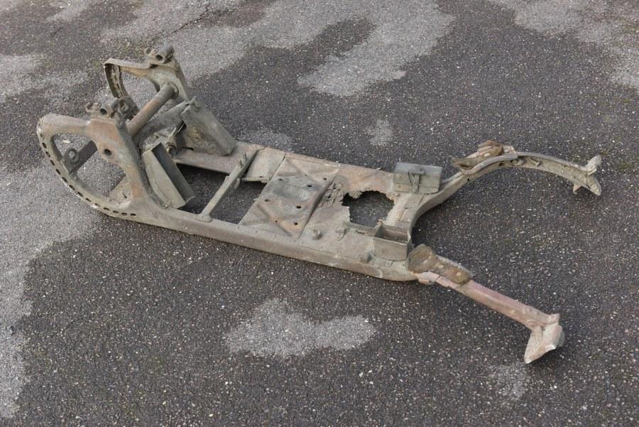 Affût Mitrailleuse MG 08