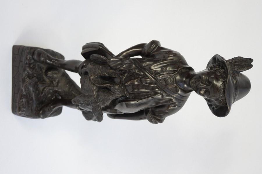 D' après Auguste Moreau. Bronze